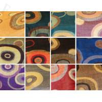 Multi-Color Circle Pattern Pashmina 1 DZ, Asst. Color