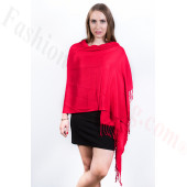 Red Pashmina Scarf