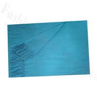 Cashmere Feel Solid Scarf Bright Blue