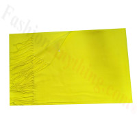 Cashmere Feel Solid Scarf Bright Yellow