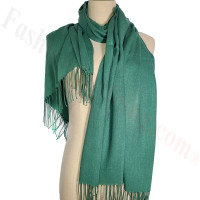 Lightweight Pashmina Scarf Green