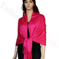 Luxury Pashmina Wrap Hot Pink