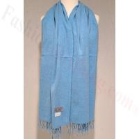 Winter Cashmere Feel Wrap Blue