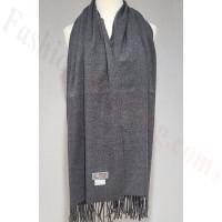 Winter Cashmere Feel Wrap Dark Grey