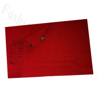 Cashmere Feel Solid Scarf Dark Red