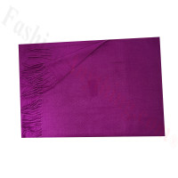 Cashmere Feel Solid Scarf Purple