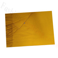 Cashmere Feel Solid Scarf Gold