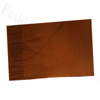 Cashmere Feel Solid Scarf Coffee