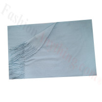 Cashmere Feel Solid Scarf Baby Blue