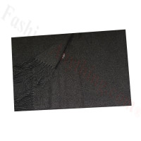 Cashmere Feel Solid Scarf Charcoal