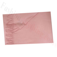 Cashmere Feel Solid Scarf Light Pink