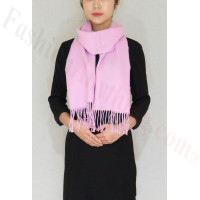 Winter Cashmere Feel Scarf Light Purple