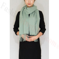 Winter Cashmere Feel Scarf Sage Green