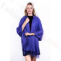 Purple Premium Thick Pashmina