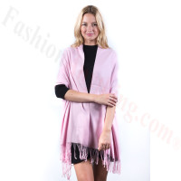 Light Pink Premium Thick Pashmina