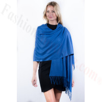 Royal Blue Premium Thick Pashmina