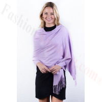 Light Purple Premium Thick Pashmina
