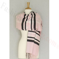 Cashmere Feel Classic Shawl Pink