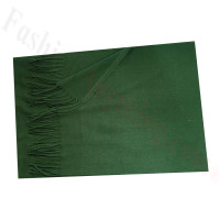 Cashmere Feel Solid Scarf Green