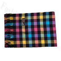 Cashmere Feel Pattern Scarf Multi Color