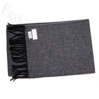 Cashmere Feel Design Scarf Black/White