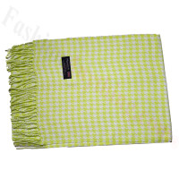 Cashmere Feel Design Scarf Lime