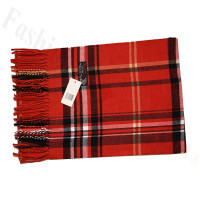 Cashmere Feel Classic Scarf 18-4 Red