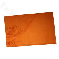 Cashmere Feel Solid Scarf Orange