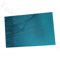 Cashmere Feel Solid Scarf Teal