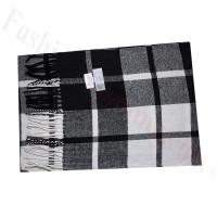 Cashmere Feel Pattern Scarf 53754 Black/White