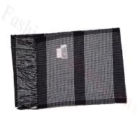 Cashmere Feel Pattern Scarf 705 Black/White