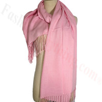 Lightweight Pashmina Scarf Pink