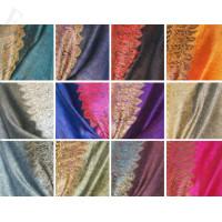 Pashmina Scarf w/ Border Pattern 1 DZ, Asst. Color