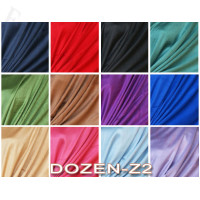 Luxury Solid Scarf 1 DZ, Asst. Color