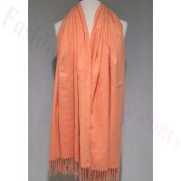 Winter Cashmere Feel Wrap Orange