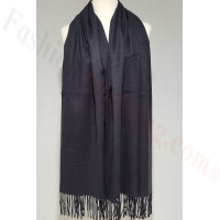 Winter Cashmere Feel Wrap 21-12 Black
