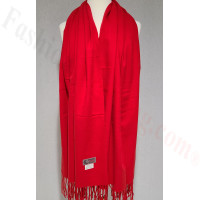 Winter Cashmere Feel Wrap Red