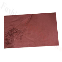 Cashmere Feel Solid Scarf Light Brown