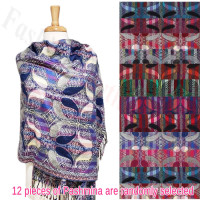 Colorful Paisley Pashmina 1 DZ, Asst. Color