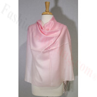 Ombre Solid Pashmina Light Pink