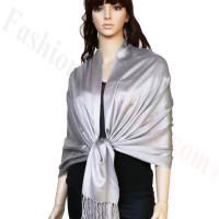 Luxury  Pashmina Wrap Grey