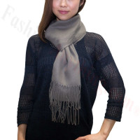 Winter Cashmere Feel Scarf Grey