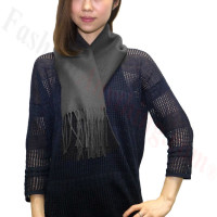 Cashmere Feel Scarf 1DZ, Charcoal