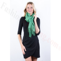 Kelly Green Premium Thick Pashmina