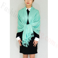 Silky Soft Solid Pashmina Scarf Tiffany