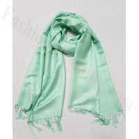 Silky Soft Solid Pashmina Scarf Honeydew