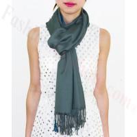 Lightweight Pashmina Wrap Medium Grey