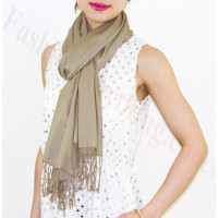 Lightweight Pashmina Wrap Gold