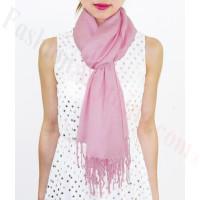 Lightweight Pashmina Wrap Light Pink