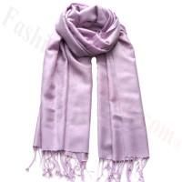 Paisley Jacquard Pashmina Light Lavender